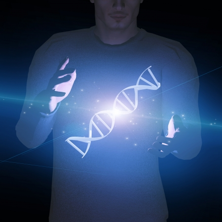 DNA  Human Stock Photo - 22771895