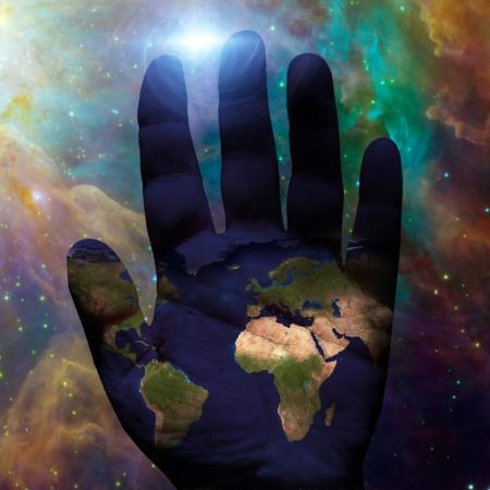 galactic: Earth hand galactic