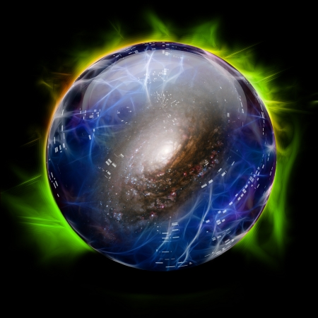diviner: Crystal Ball Shows Galaxy