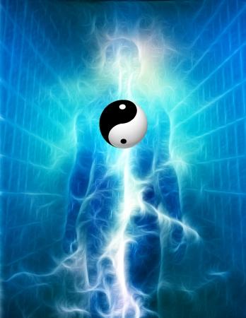 restore energy flow: Yin Yang Human