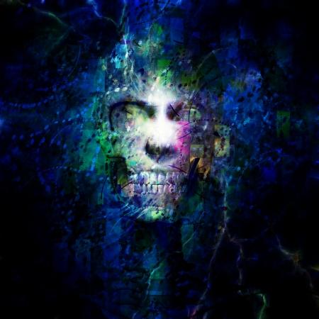 monster face: Skull Design