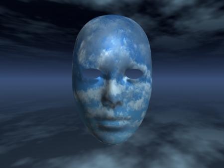 moody sky: Faccia Surreal