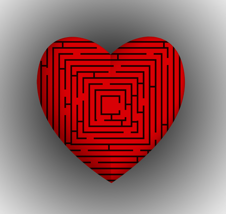 Heart Maze photo