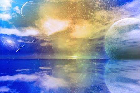 reflection of life: Alien World
