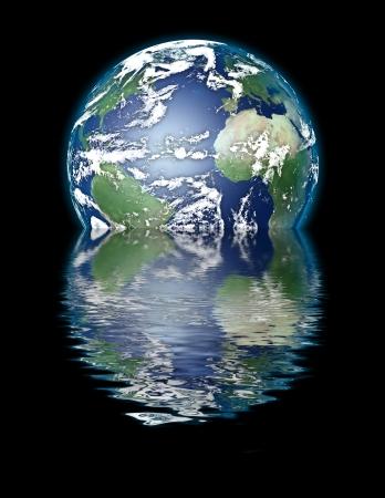 sinking: Earth Sinking