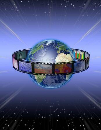 film industry: Film Stars Stock Photo