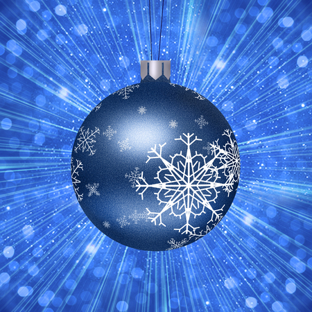 Christmas Tree Ball Illustration Stock Photo