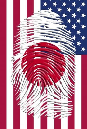 Japan USA Identity photo
