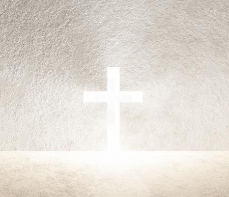 holy  symbol: Cruz de Luz Foto de archivo