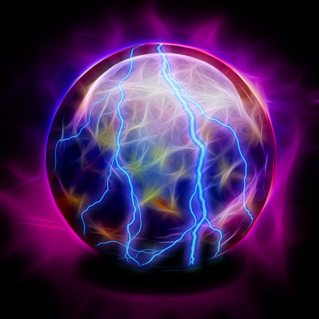 Crystal Ball Electric Stock Photo - 25633984