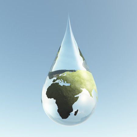 Droplet Africa Asis