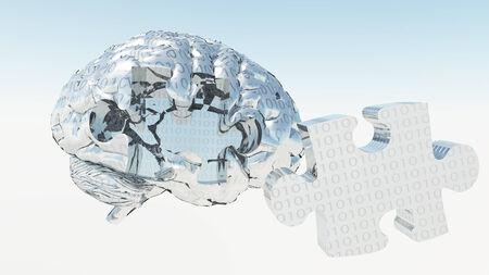 Binary Brain Puzzle photo