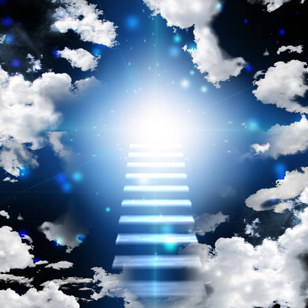 cielo: Escalera al cielo