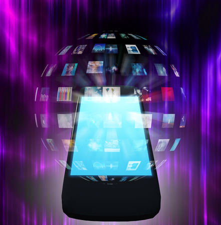 Smart Phone Video Sphere or Image Sphere photo