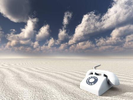 old phone: White Phone