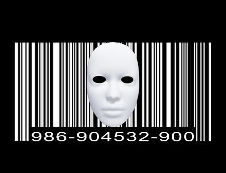 Masker met Barcode