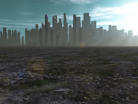 barren: City in barren lands