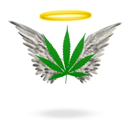 marihuana leaf: Angelic Weed