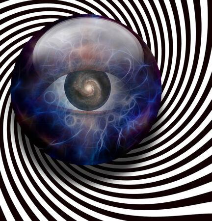 Eye Galaxy Spiral photo