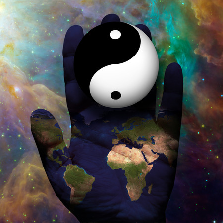 Earth Yin Yang photo