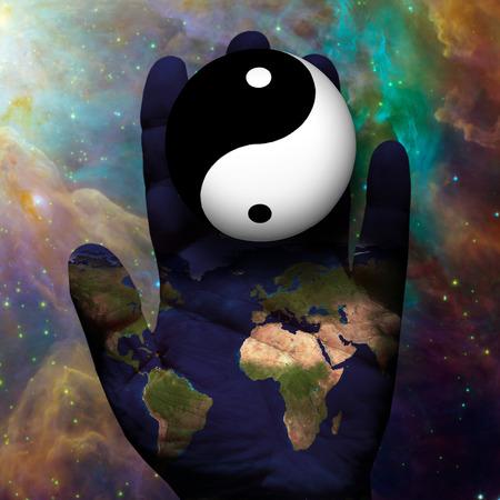 Earth Yin Yang photo