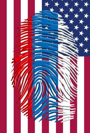 Russia USA ID photo