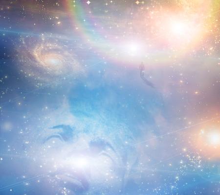 천국과의 축축한 얼굴