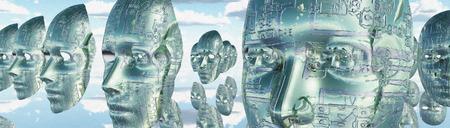 전자 얼굴
