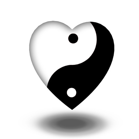 Yin Yang Heart photo