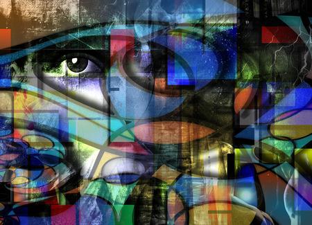 modern art: Moderno dise�o de arte
