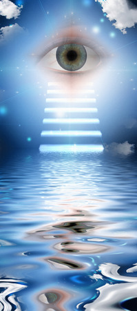 divinity: Stairs lead to eye