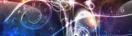 quantum: Retro Space Illustration
