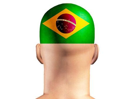 브라질, 브라질 대표팀 감독 스톡 콘텐츠
