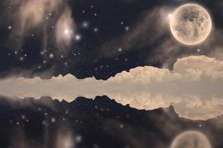Fanastic Moon Landscape photo