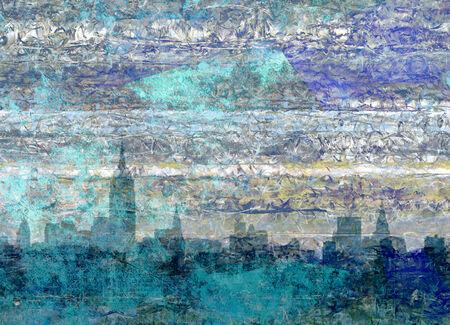 Panorama de la ville de New York Banque d'images - 31198399