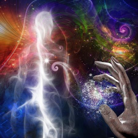 quantum: Man deeltje en kosmologische natuurkunde