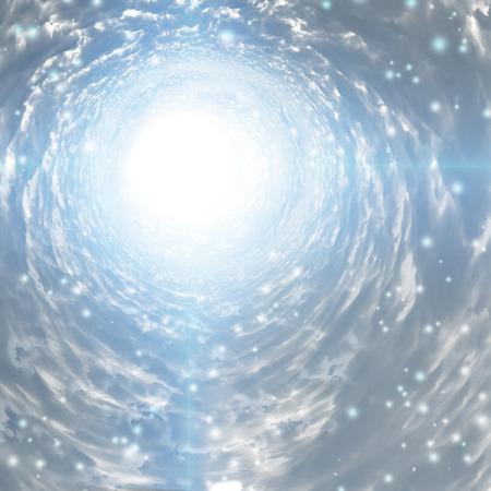 tunel: Túnel de luz