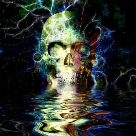 Cráneo Reflexión