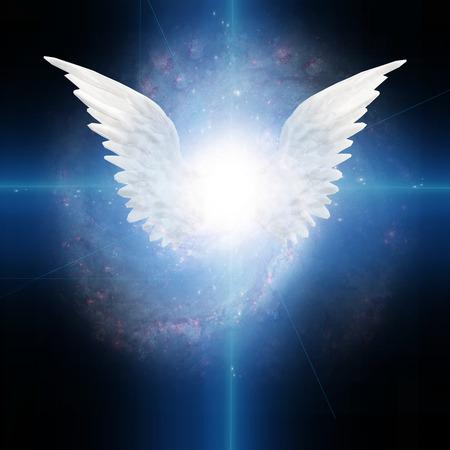 alas de angel: Ángel con alas