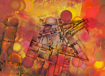 motley: Futurism Abstract