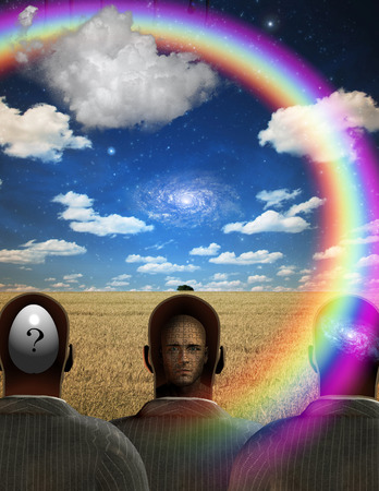 mind body soul: Three man minds revealed