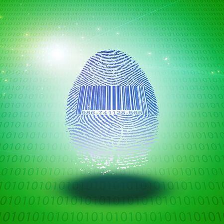 registry: Fingerprint with barcode