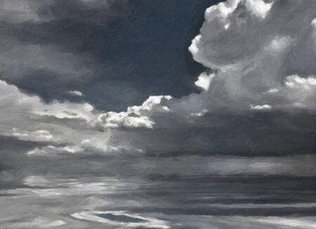 cloudscape: Painted Cloudscape