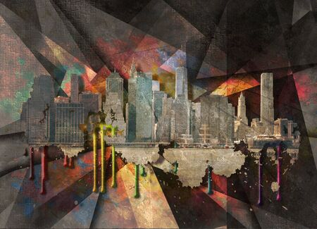 building trade: NYC Landscape