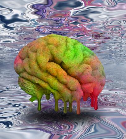 Psychedelic Melting Mind photo