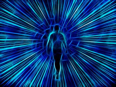 図は、光から出てくる 写真素材