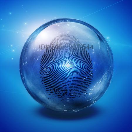 지문 스톡 콘텐츠 - 38948031