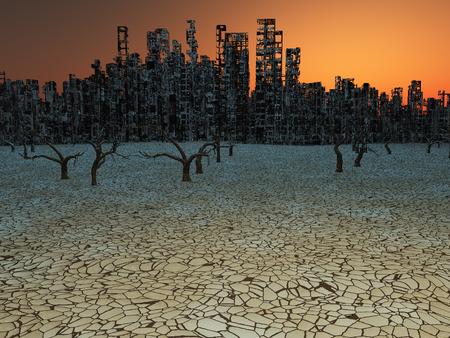 erosion: Abandoned City