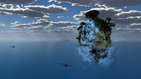 Fantasy Floating Island