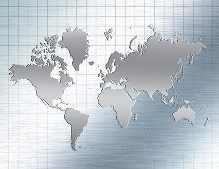 reflective: Reflective Earth Stock Photo